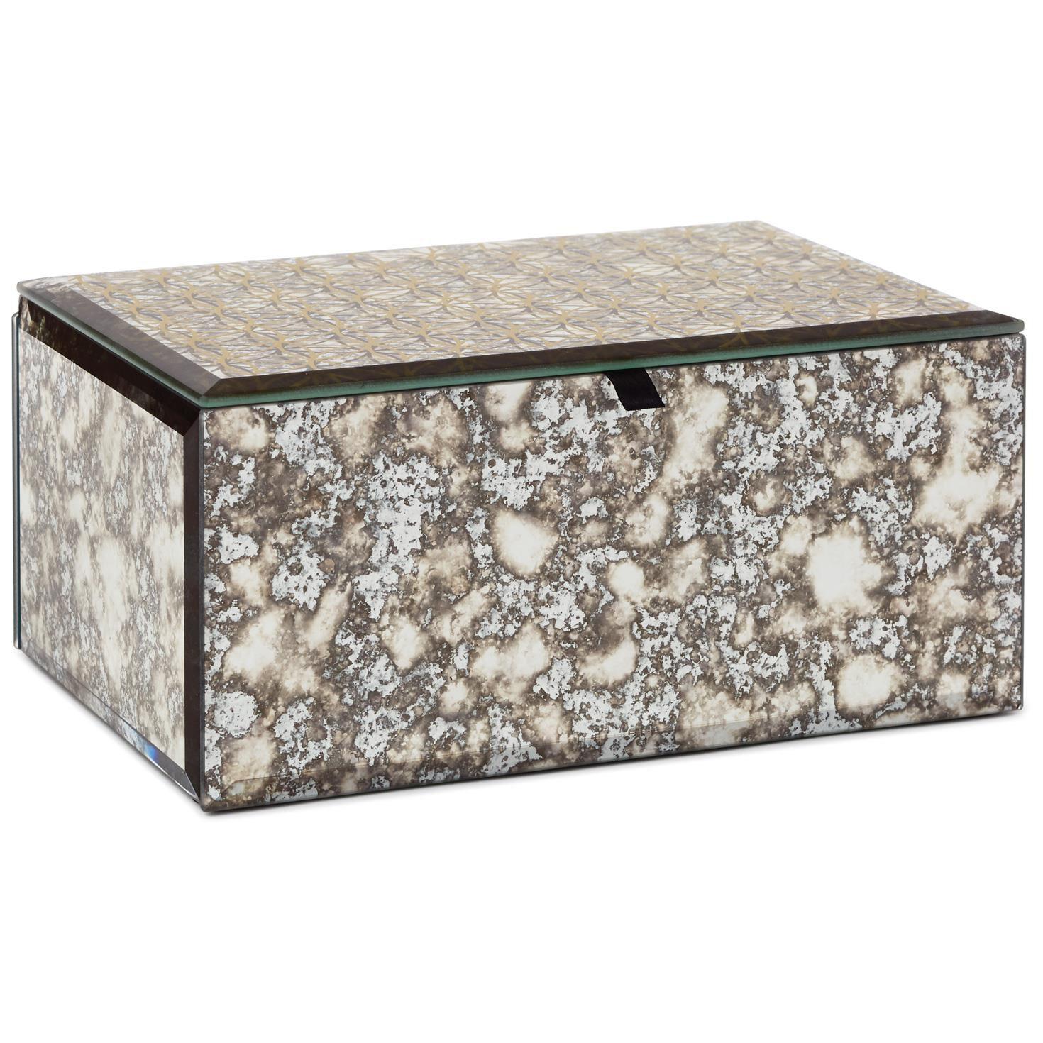Beveled Glass Music Box Decorative Accessories Hallmark