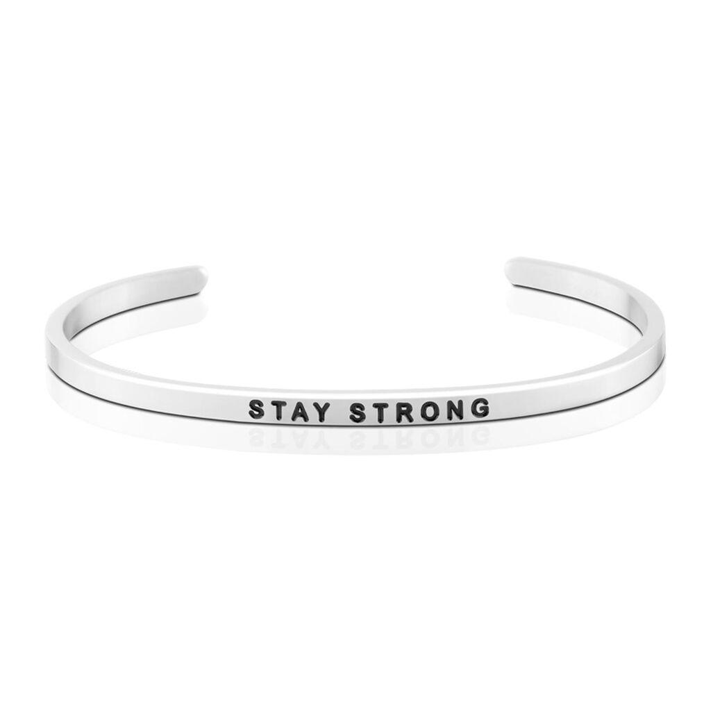Mantraband Stay Strong Bangle Bracelet