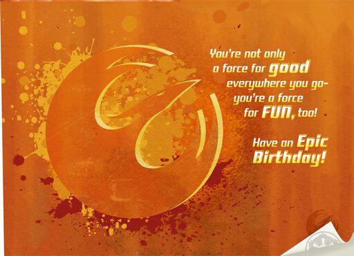 Star Wars™ Rebels Birthday Card,