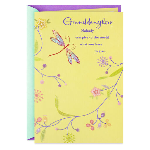 Grand Daughter Birthday Card Bear /& Cup Cake By Greetings ~ Free P/&P