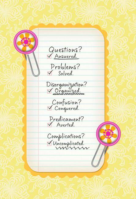 appreciation checklist administrative professionals day card