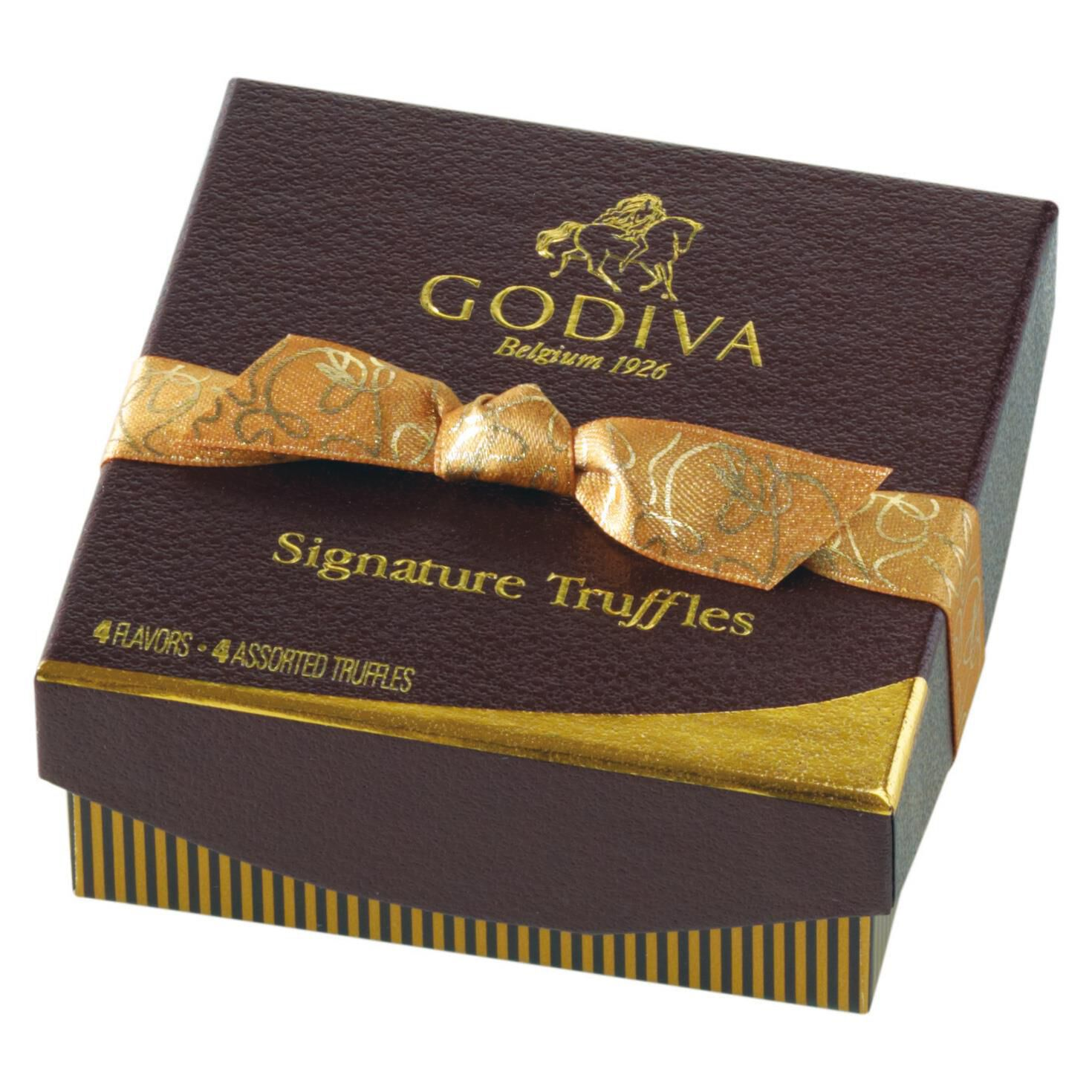 Godiva Chocolatier Chocolate Signature Chocolate Truffles, 4 ...