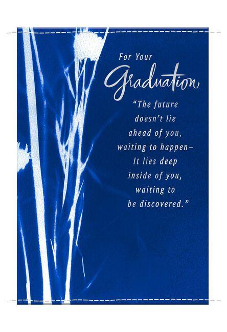 Cyanotype Sun Print Graduation Card Greeting Cards Hallmark
