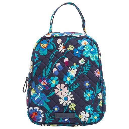 cb82ff74b Vera Bradley Iconic Lunch Bunch Bag in Moonlight Garden, ...