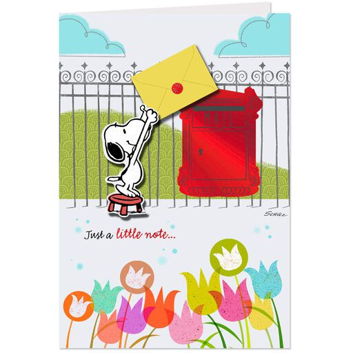 PeanutsR Snoopy All The Happy Wishes Birthday Card