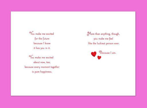 Lucky I Found You Valentine's Card,