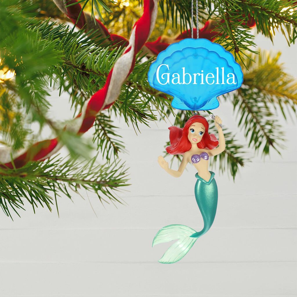 Disney The Little Mermaid Ariel Personalized Ornament