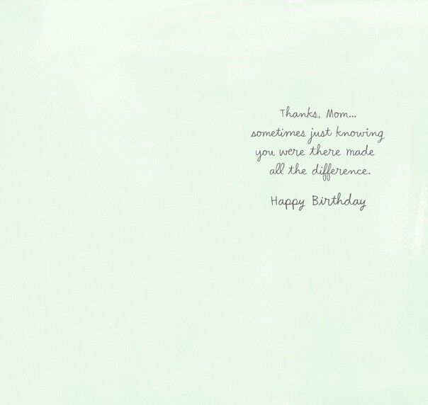 All The Difference Mom Birthday Card Greeting Cards Hallmark
