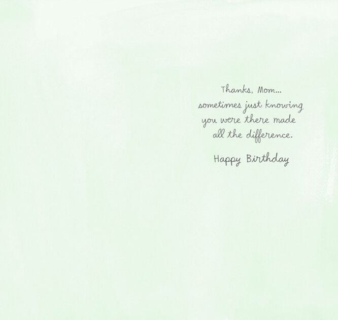 all the difference mom birthday card greeting cards hallmark all the difference mom birthday card