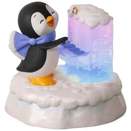 Merry Music Makers Penguin Playful Piano Music Ornament With Light, , large