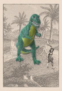 Hey Caveman Funny Birthday Card,