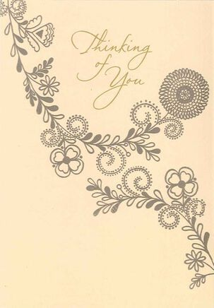 Patterns of Peace Sympathy Card