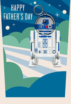 Star Wars™ R2-D2™ Father's Day Card With Keychain
