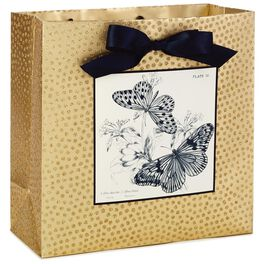 "Archival Butterflies Large Square Gift Bag, 10.25"", , large"