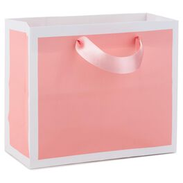 "Shell Pink Small Gift Bag, 5.5"", , large"