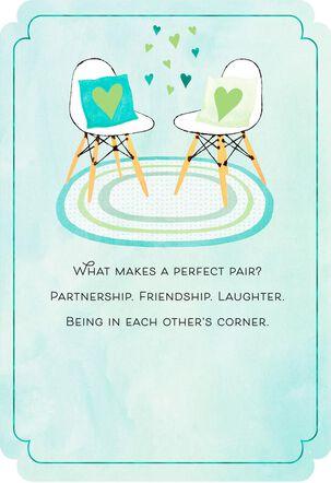 Perfect Pair Anniversary Card