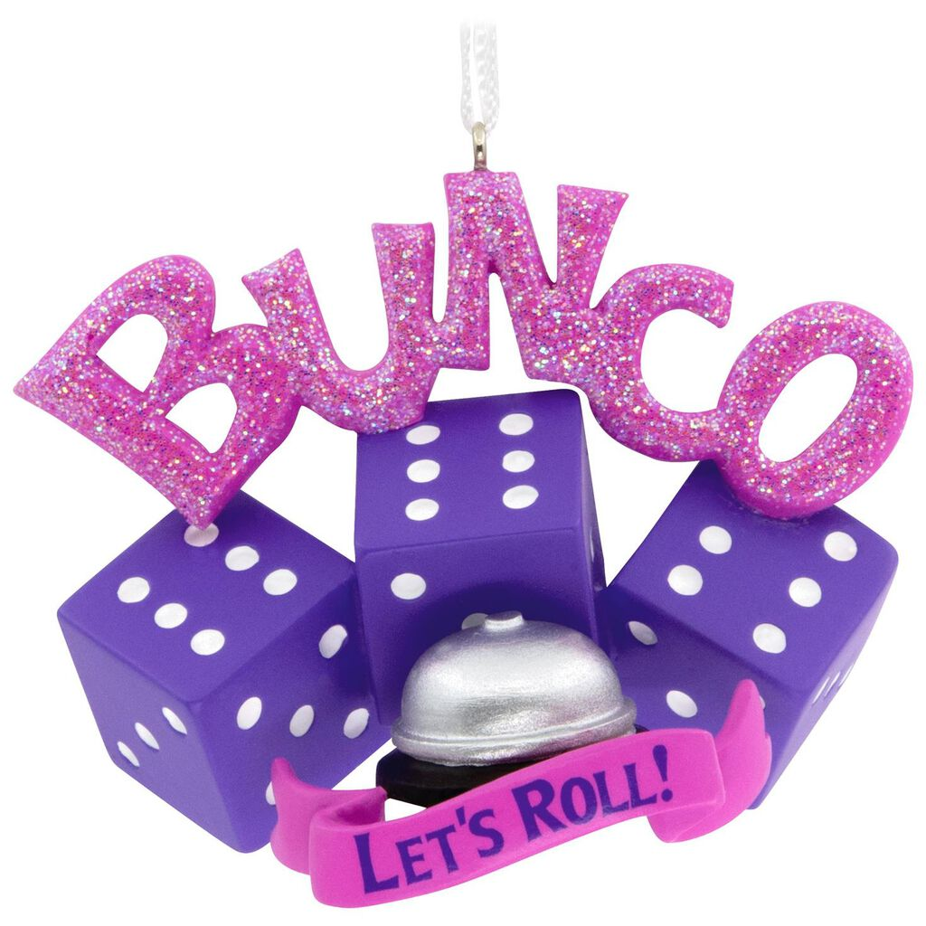 Bunco Hallmark Ornament - Gift Ornaments - Hallmark