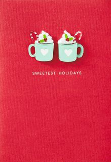 Sweetest Holidays Christmas Card for Couple,