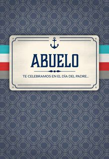 You're an Inspiration Spanish-Language Father's Day Card for Grandfather,