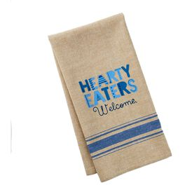 Hearty Eaters Cotton Tea Towel, , large
