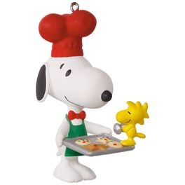 PEANUTS® Spotlight on Snoopy Baker Snoopy Ornament, , large