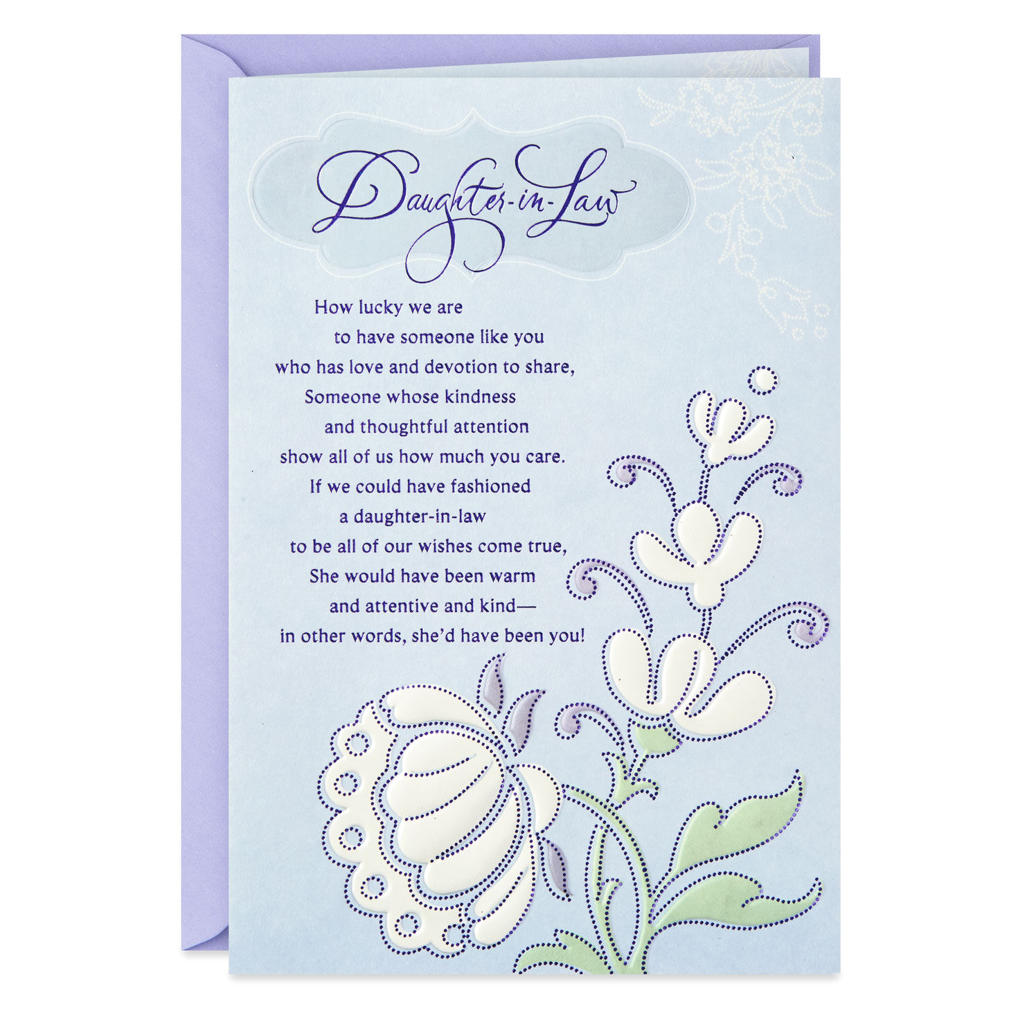 You Re A Gift To Our Family Birthday Card For Daughter In Law Greeting Cards Hallmark