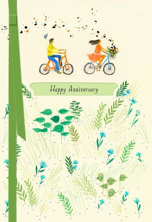 Side Trips Along Marriage Anniversary Card