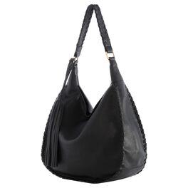 Mark & Hall Black Hobo Bag, , large