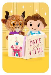 itty bittys® Beauty and the Beast Fairytale Birthday Card,