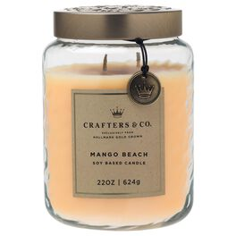 Crafters & Co. Mango Beach Candle, 22-oz, , large