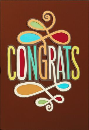 Your Awesomeness Congratulations Card