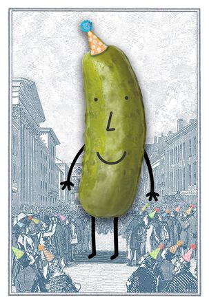 Big Dill Funny Birthday Card