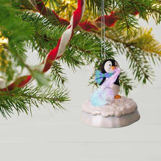 Merry Music Makers Penguin Swingin' Sax Ornament With Light and Music,