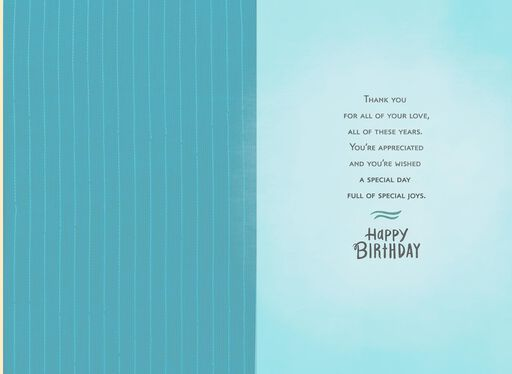 Man of Gentleness and Strength Birthday Card for Him,