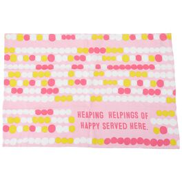Happy Served Here Tea Towel, , large