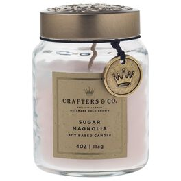 Crafters & Co. Sugar Magnolia Candle, 4-oz, , large