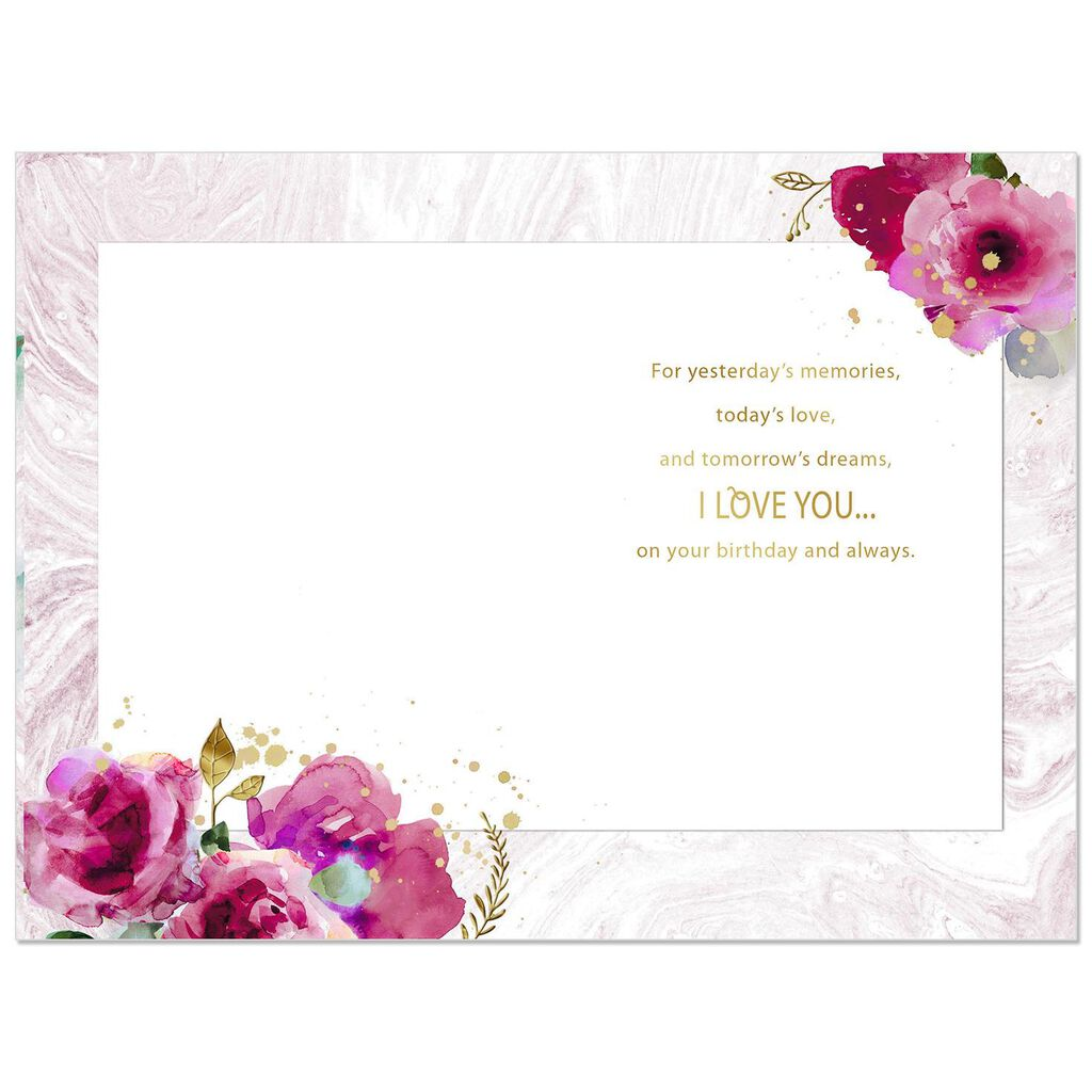 With All My Heart Romantic Birthday Card