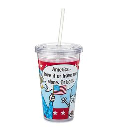 Love It or Leave Me Alone Maxine Tumbler, 20 oz., , large