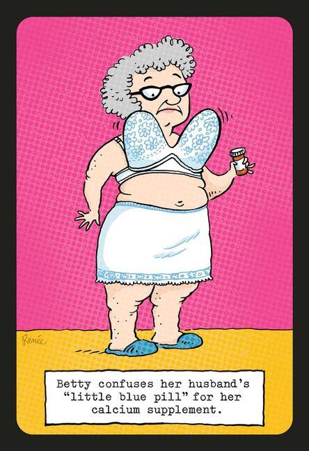 Little Blue Pill Funny Birthday Card Greeting Cards Hallmark