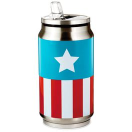 Captain America Soda Can Travel Mug, 8 oz., , large