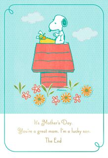 Peanuts® Mother's Day Card From Son,