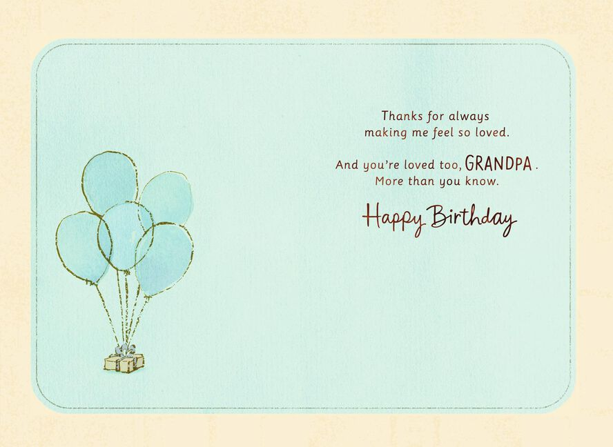Easy Chair Birthday Card For Grandpa Greeting Cards Hallmark