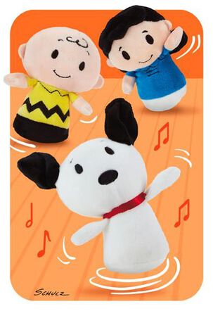 Peanuts® itty bittys® Greetings Just Because Card
