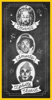 The Wizard Of Oz™ Courage, Smarts And Heart Graduation Money Holder Card,