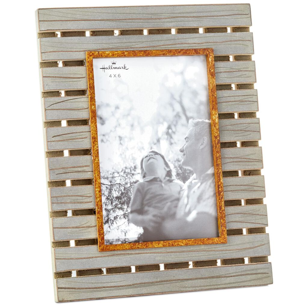 Rustic Wood Slat Picture Frame, 4x6 - Picture Frames - Hallmark