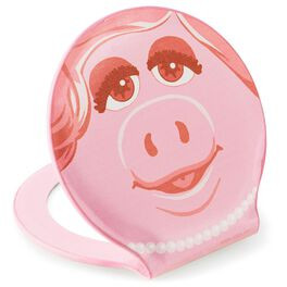 The Muppets Miss Piggy and Kermit the Frog Compact Mirror, , large