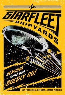 Star Trek™ Starfleet Shipyards Father's Day Card,