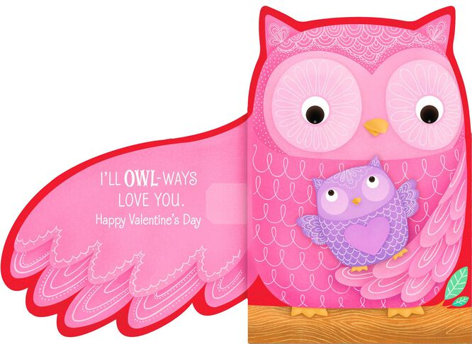 Owlways Love You Valentines Day Card Greeting Cards Hallmark – Owl Valentines Day Cards