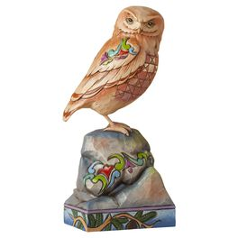 Jim Shore® Owl Perched on Rock Figurine, , large
