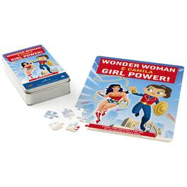WONDER WOMAN™ Girl Power Personalized Puzzle and Tin, , large